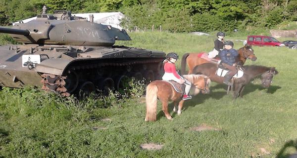 Ontdek de omgeving te paard